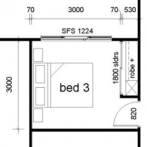 bedroom 3x3